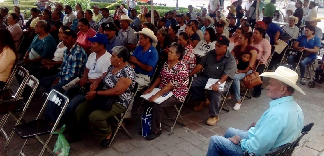 Familias del municipio de Abasolo reciben escrituras de sus propiedades. - Noticias Gobierno del Estado de Guanajuato