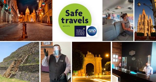 Recibe el estado de Guanajuato sello de Viaje Seguro del WTTC – Boletines  Dependencias