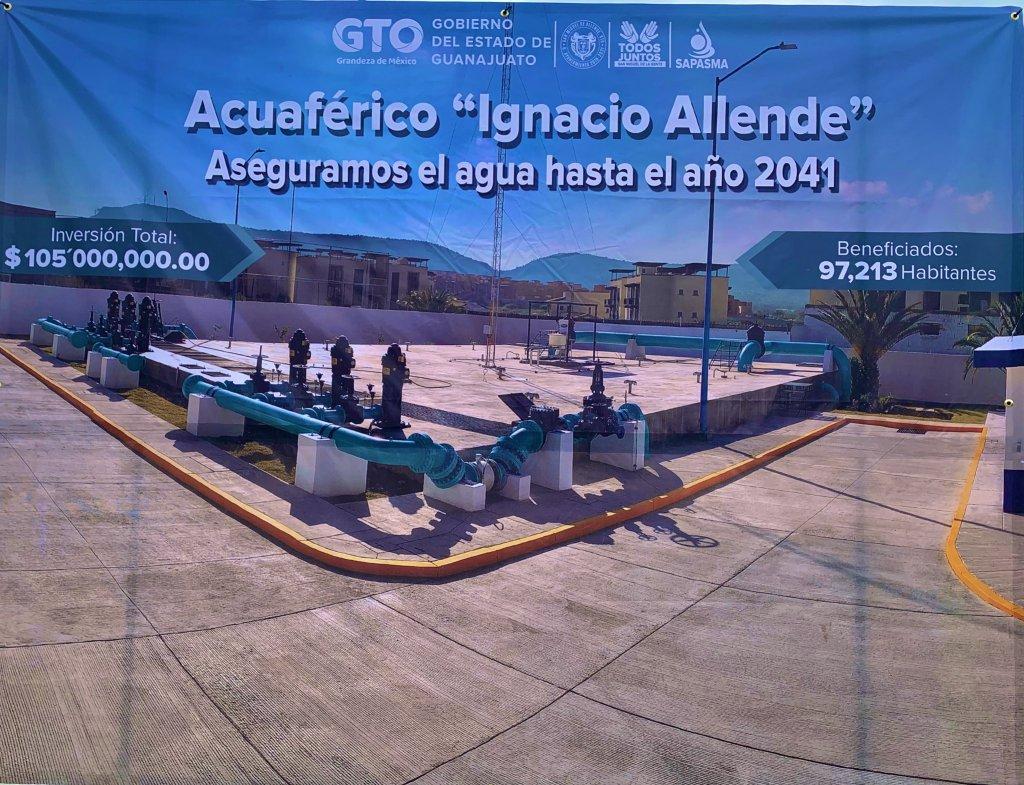 Inauguran obras del Acuaférico, Centro de Control del sistema de agua  potable y anuncian nueva planta de tratamiento de aguas residuales para San  Miguel de Allende | Guanajuato Desconocido
