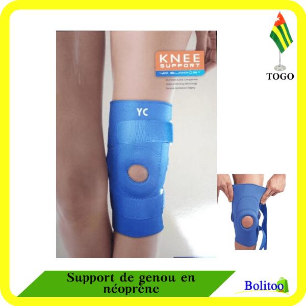 Support de genou en néoprène