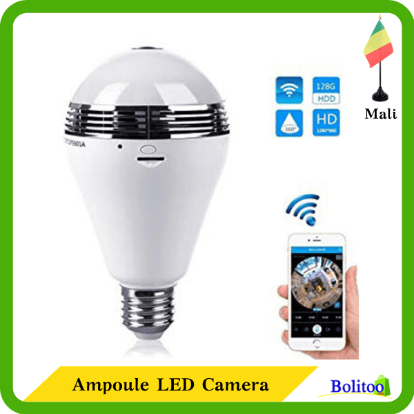 Ampoule LED Camera
