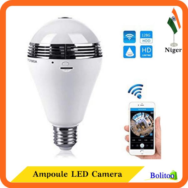 Ampoule LED Caméra