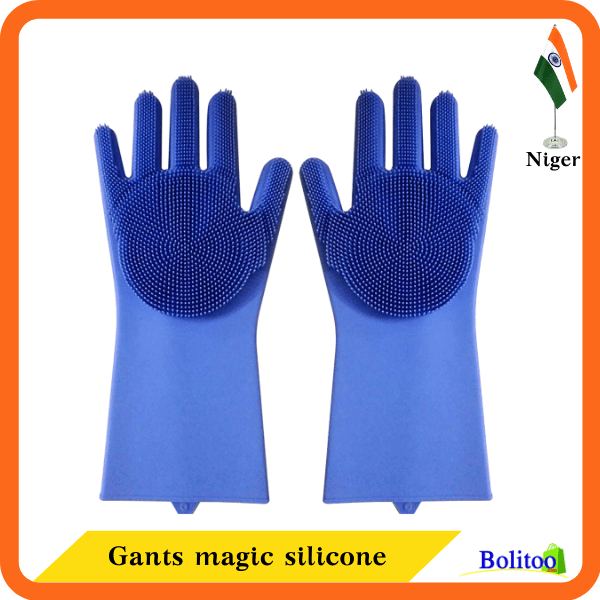 Gants magic silicone