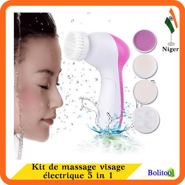 Kit de Massage visage Électrique 5 in 1