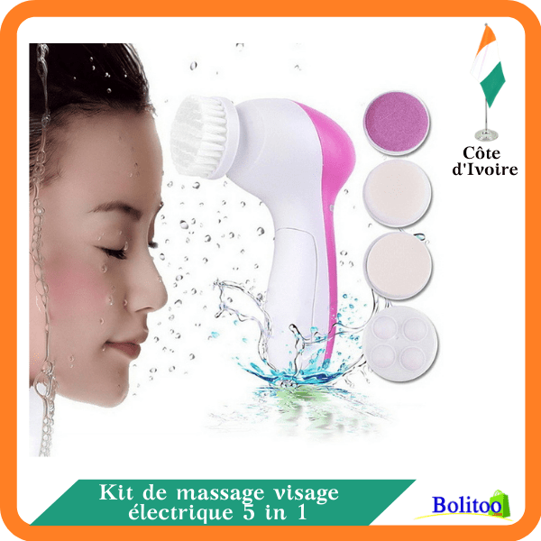 Kit de Massage Visage Électrique 5 in 1