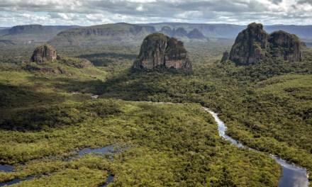 Parque Chiribiquete, declarado Patrimonio Mixto de la Humanidad