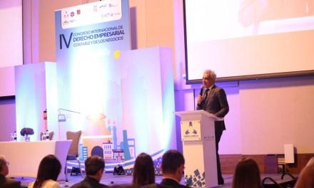Inicia el IV Congreso Internacional de Derecho Empresarial Contable y de los Negocios.