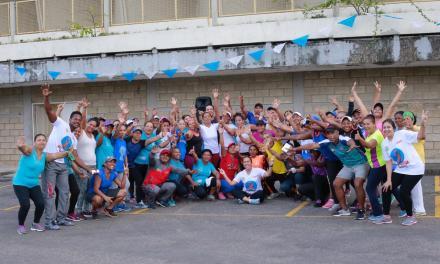 """La campaña """"Piensa positivo"""" se tomó Cartagena"""