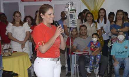 Gestora Social del Distrito lleva ayuda a niños con tratamientos oncológicos