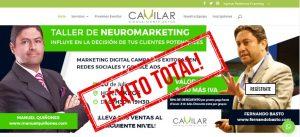 Cavilar realizó con éxito el seminario de neuromarketing y marketing digital con conferencistas internacionales