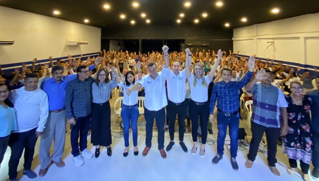 'El Millo' Torres y 'Guillo' Gómez reciben apoyo del pueblo creyente en El Carmen de Bolívar