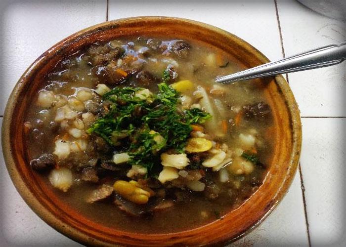 Chairo paceo  La Paz  Bolivia gastronomia boliviana