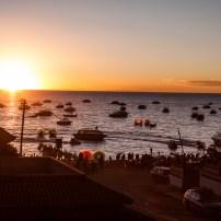 Sunset at Titicaca