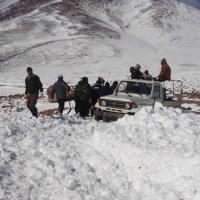 Heavy snowfall reduced tourism flow in Potosi, Bolivia