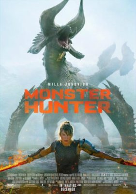 Monster Hunter 2020 WEB-DL 850Mb Hindi Dual Audio 720p Watch online Full Movie Download bolly4u