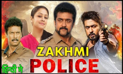 Zakhmi Police 2021 HDRip 300Mb Hindi Dubbed 480p Watch Online Full Movie Download bolly4u