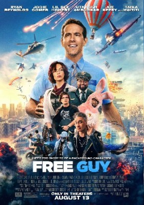 Free Guy 2021 HDCAM 800MB English 720p Watch Online Full movie Download bolly4u
