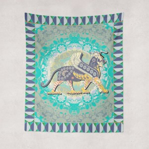 Dragon Lion Tapestry