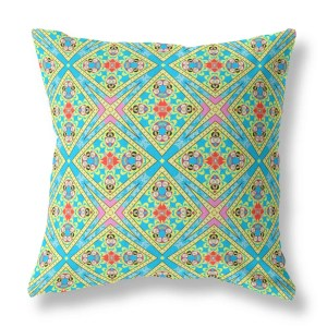 Lotus Flower Indoor Throw Pillow