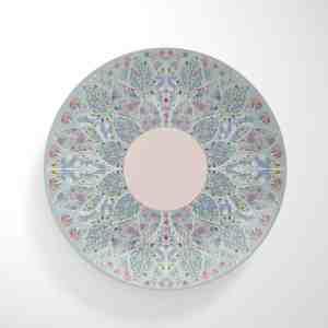 Extravagant Floral Dinnerware Plate