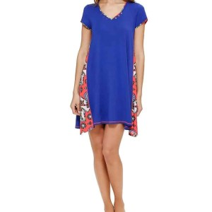 Dreaming Fish Blue Lounge Chemise