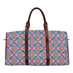 Floral Damask Travel Bag