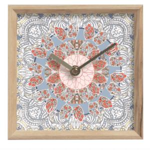 Blooming Tree of Life Mantle Clock