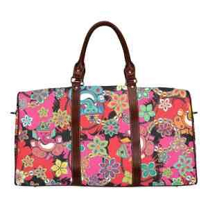 Ganesh with Lotus Travel Bag