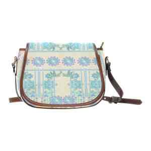 Lotus Flower Saddle Bag