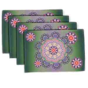 Baroque Mandala 3 Placemat