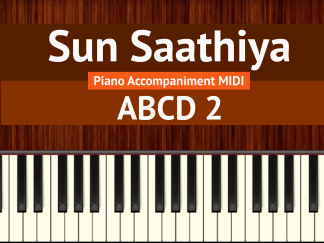 Sun Saathiya Piano Accompaniment MIDI