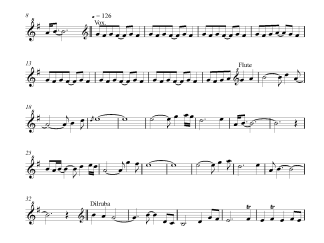 Tum Se Hi Instrumental flute / violin notes