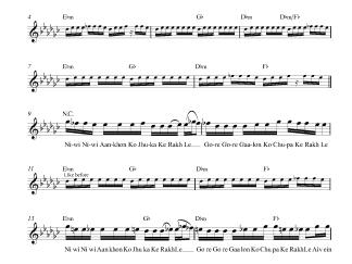 Mundiyan - Baaghi 2 flute / violin notes