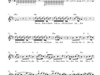 Kaise Hua - Kabir Singh flute / violin notes