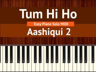 Tum Hi Ho Easy Piano Solo MIDI