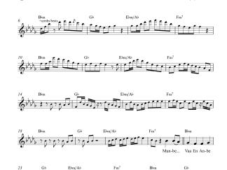 Munbe Vaa En Anbe Vaa flute / violin notes