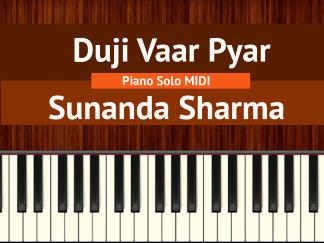 Duji Vaar Pyar Piano Solo MIDI
