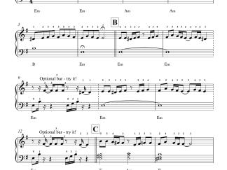 Unna Nenachu - Psycho Easy Piano Notes