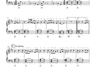 Abhi Mujh Mein Kahin - Agneepath easy piano notes