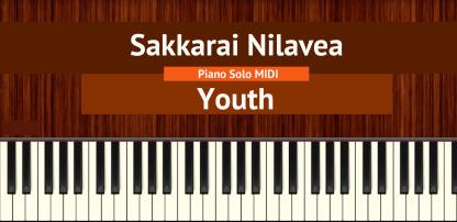 Sakkarai Nilavea - Youth Piano Solo MIDI