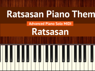 Ratsasan Piano Theme Advanced Piano Solo MIDI