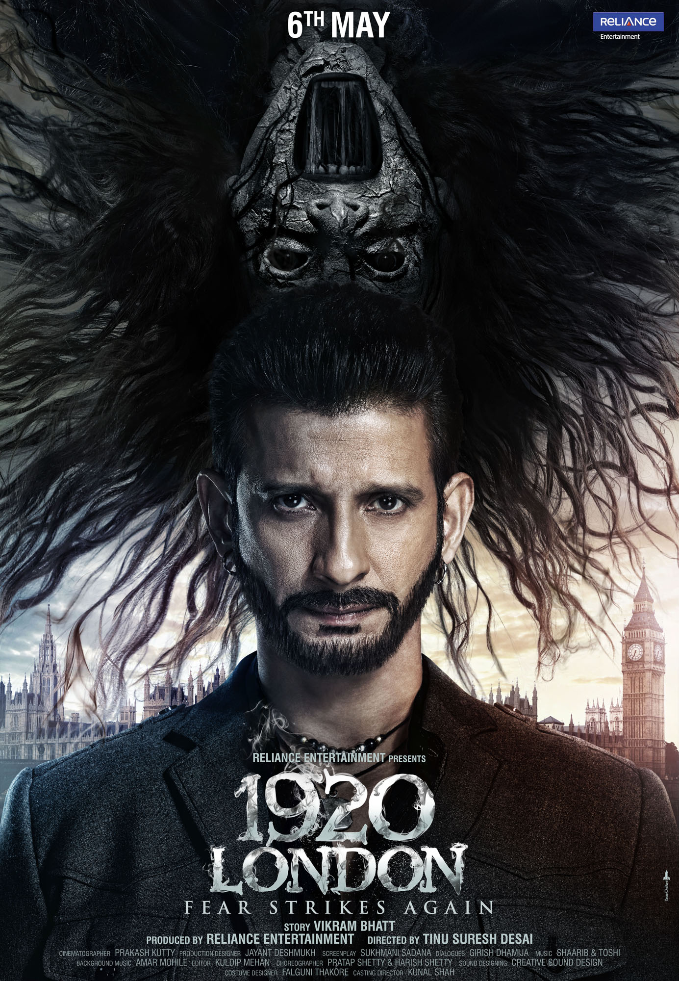 Poster 1920 London Starring Sharman Joshi And Meera