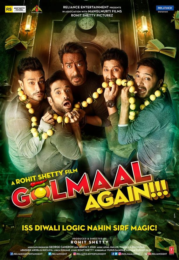 Get ready for magic this Diwali with the release of Golmaal Again on 20th October!