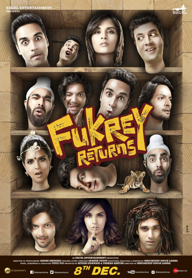 Fukrey Returns Trailer!
