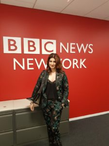 Twinkle Khanna Discusses The Imporant Message Of PADMAN On BBC World News