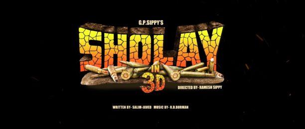 Sholay In 3D is screening in Birmingham this weekend!