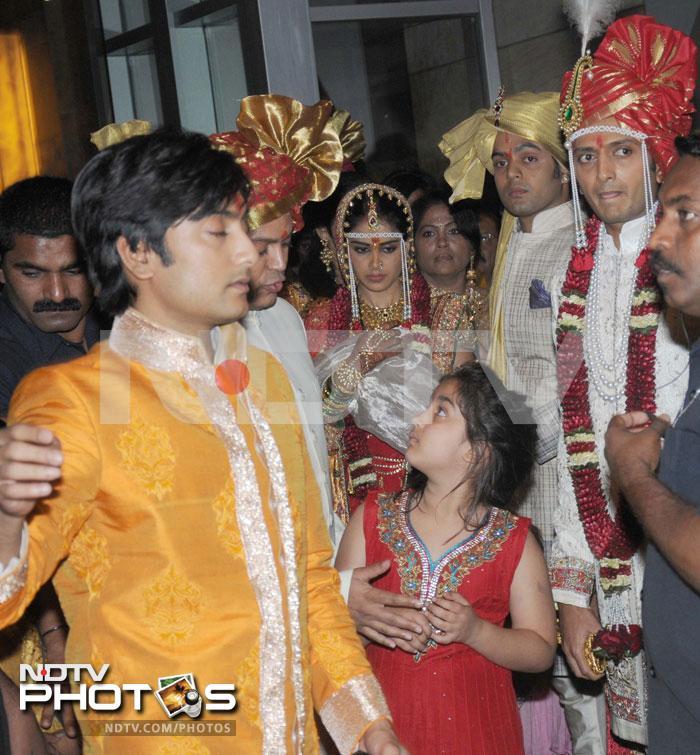 GeneliaRitesh Wedding Pictures The Big Day  bollywoodaddict