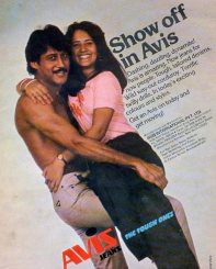 Jackie and Ayesha did this ad when they were dating