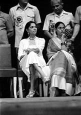Simi Garewal and Jaya Bachchan