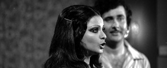 Rekha with Dabboo